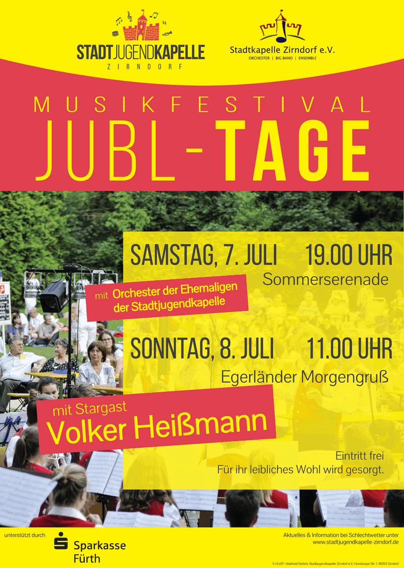 Plakat Jubltage 2018